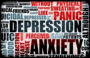 Anxiety + Depression equals