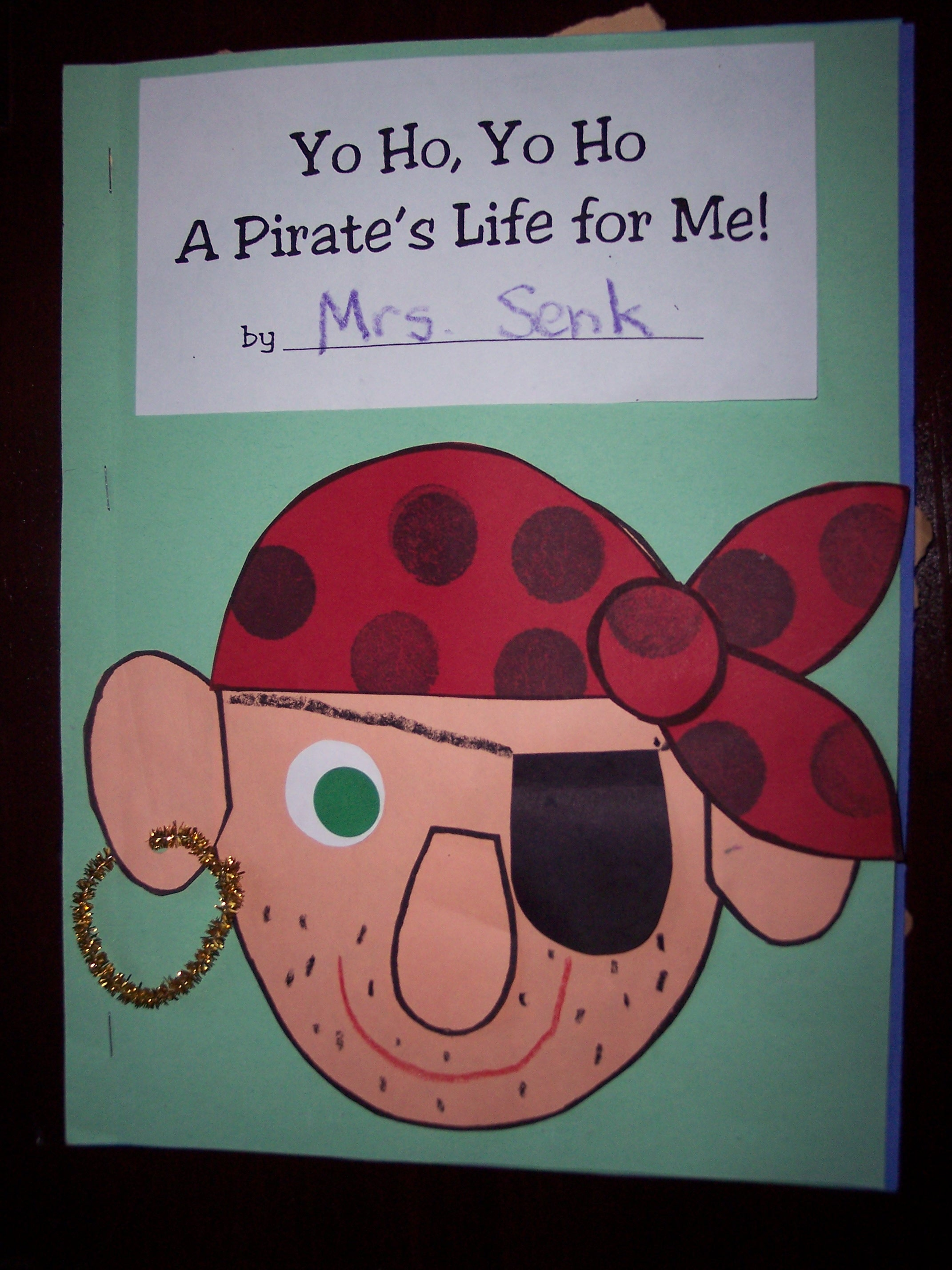 Pirate Crafts For Kindergarten