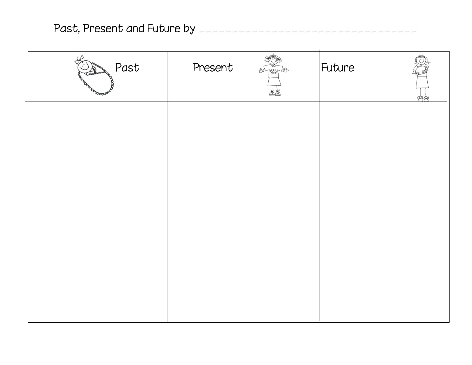 Past Present And Future Tense Worksheet For Kids