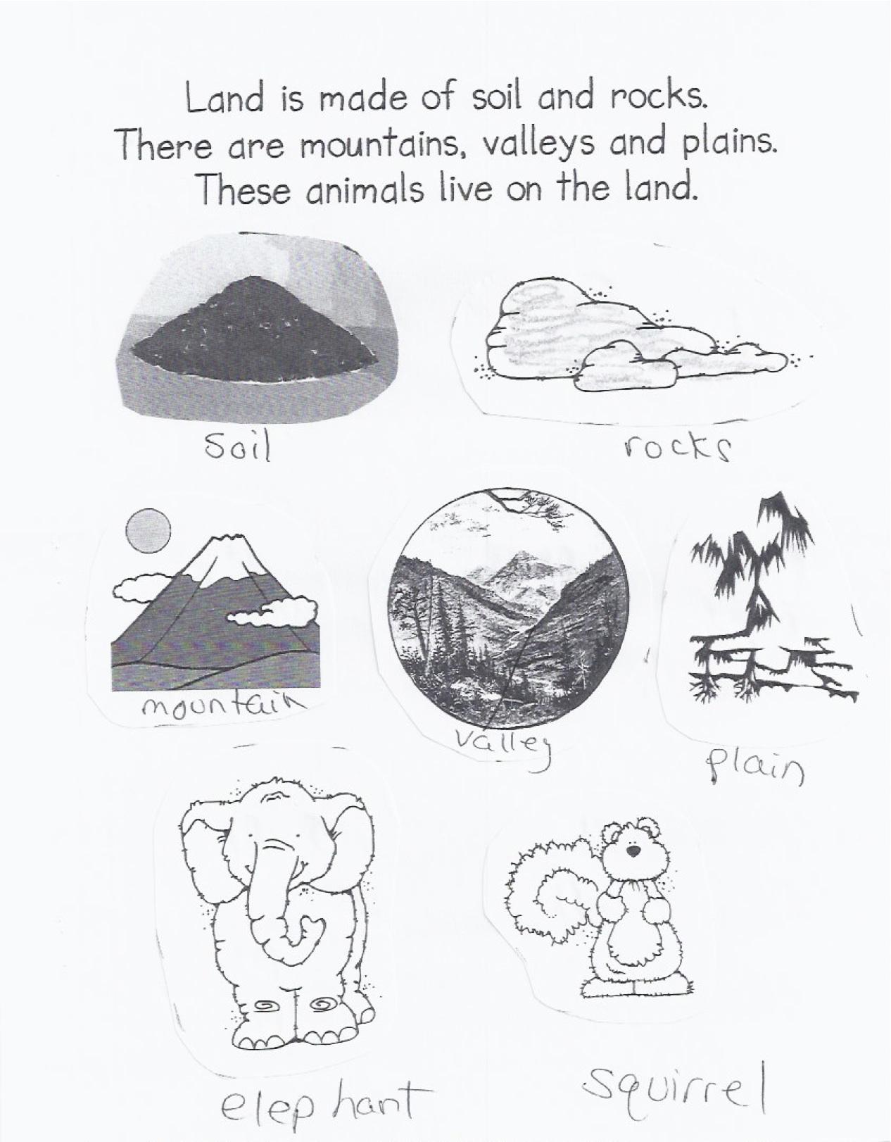 Soil Layer Fun Preschool Worksheet