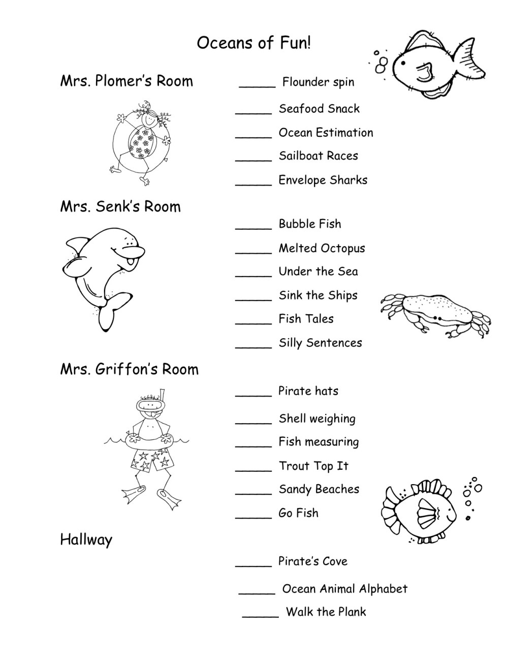 medium resolution of First Grade Ocean Worksheets   Printable Worksheets and Activities for  Teachers