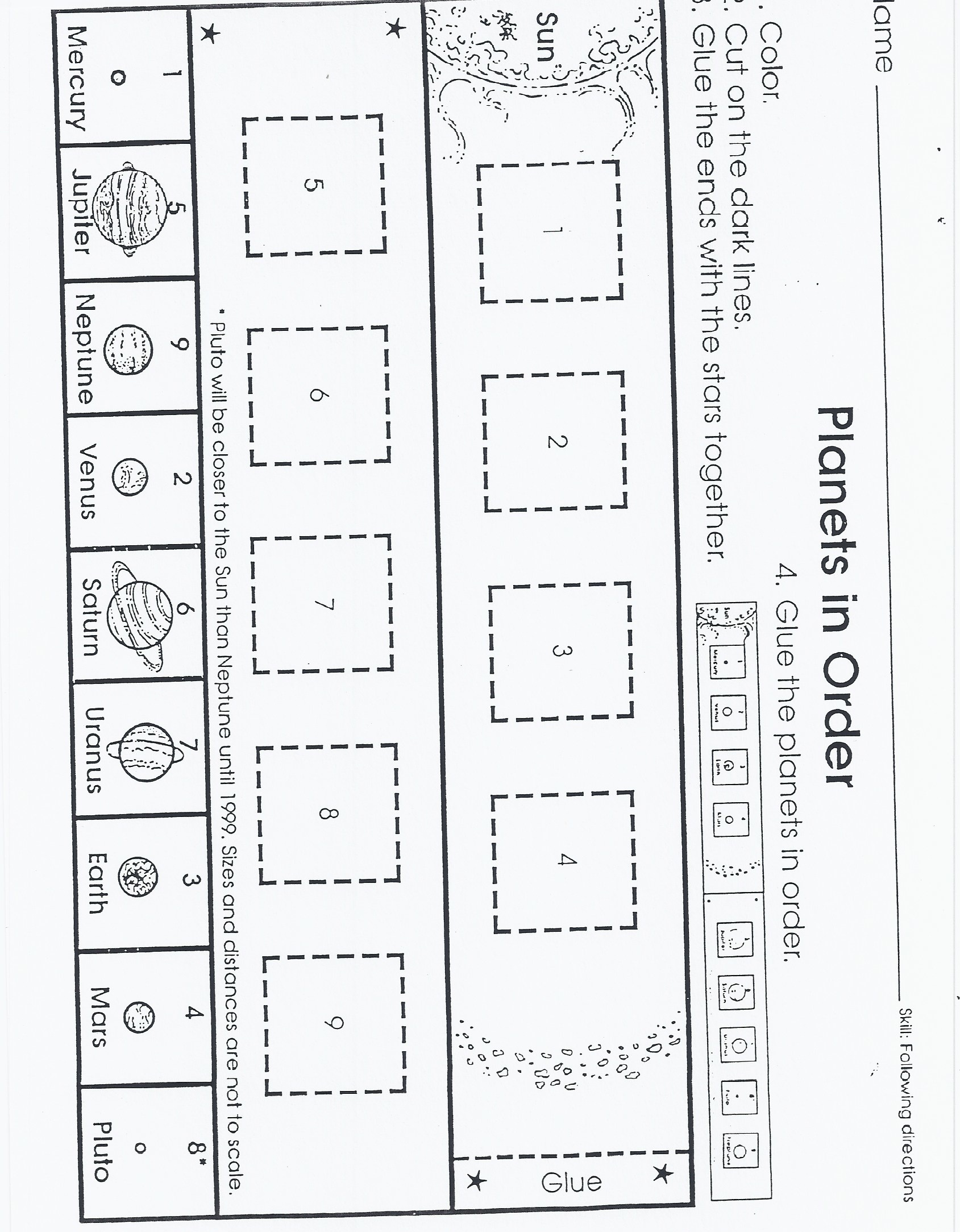 sight word worksheet: NEW 693 FREE CUT AND PASTE SIGHT