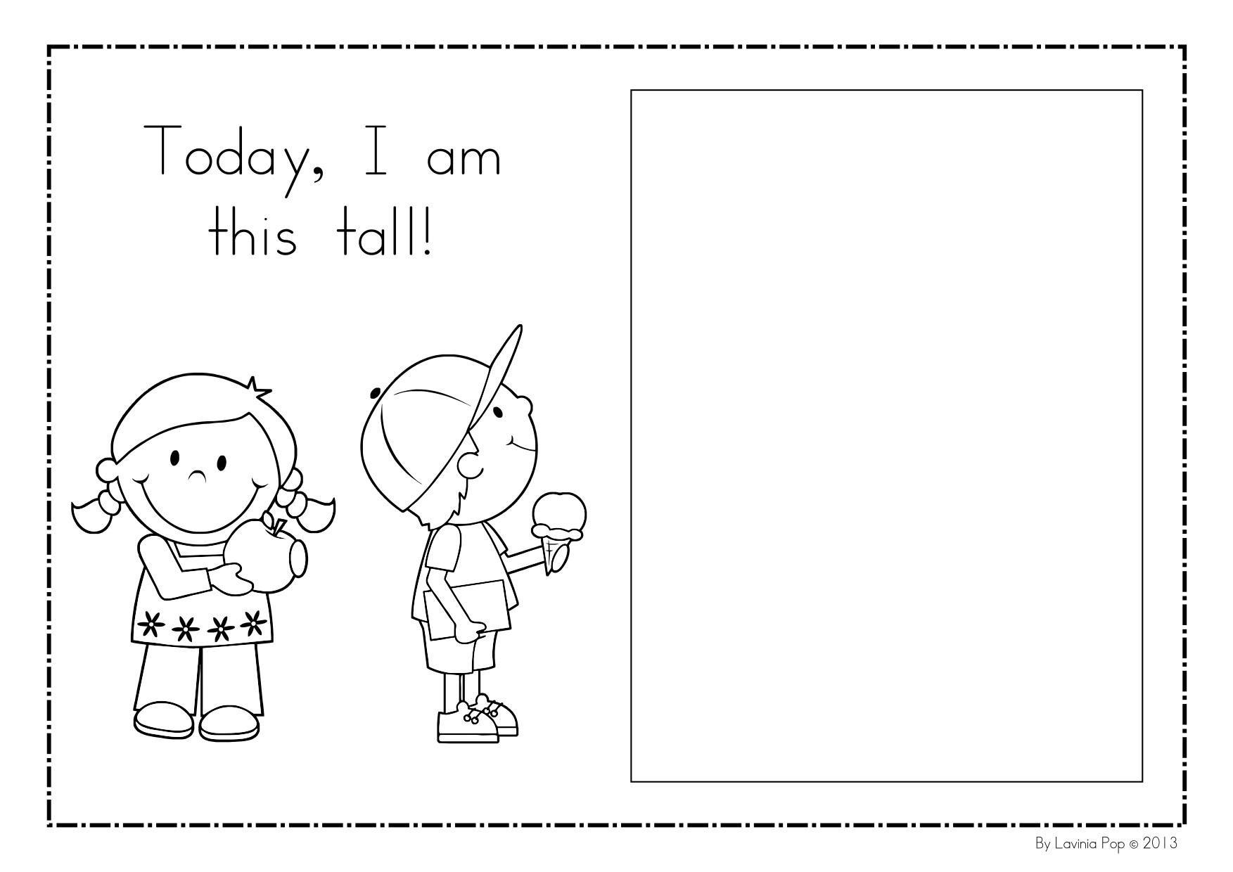 Me Book Kindergarten Nana I Am Unique Worksheets For Preschool Me Best Free Printable Worksheets