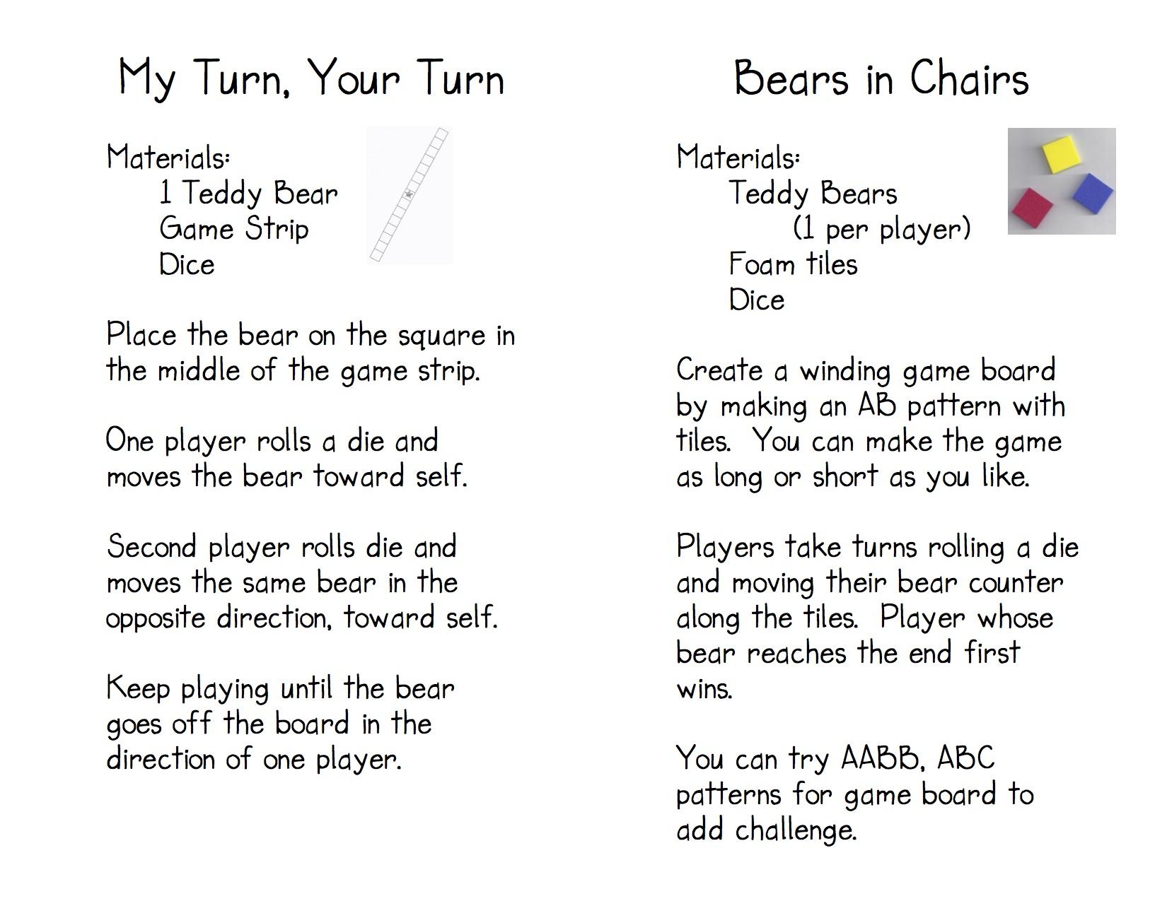 Teddy Bear Counters