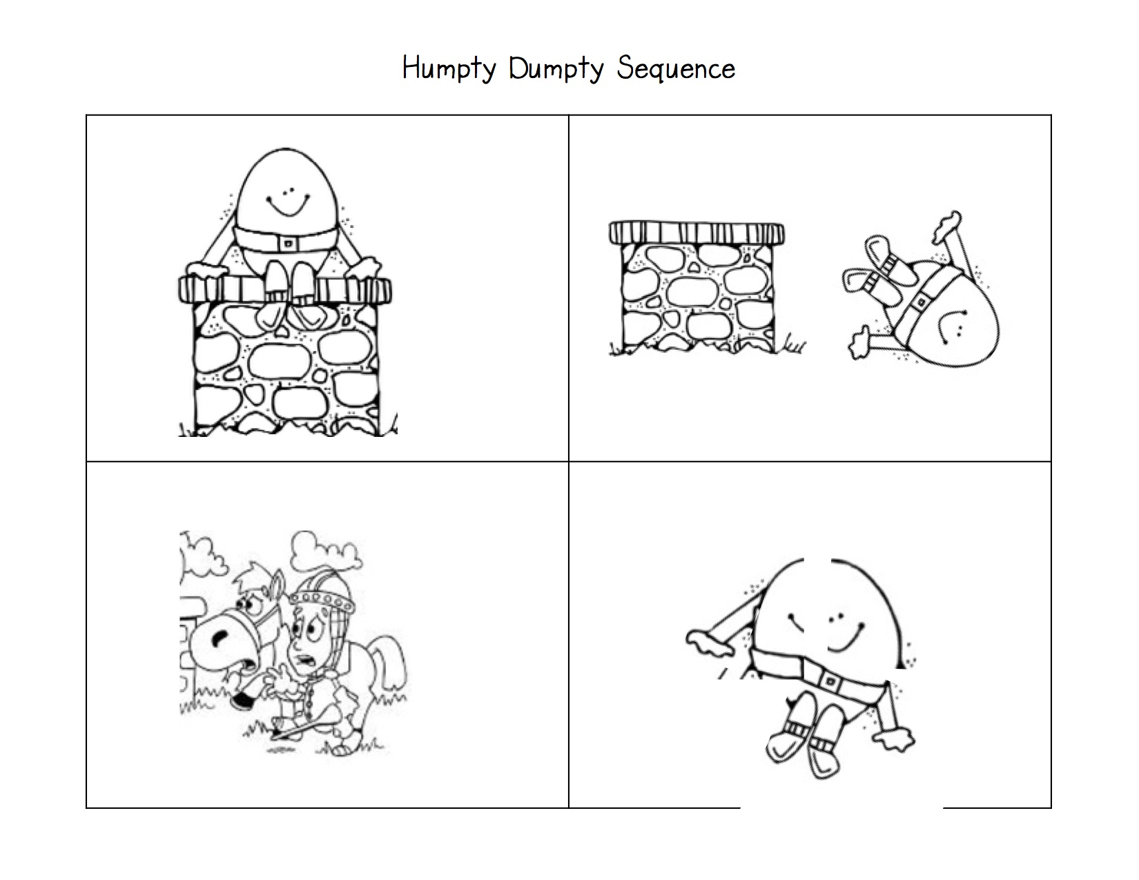 Sequencing Worksheet For Adults