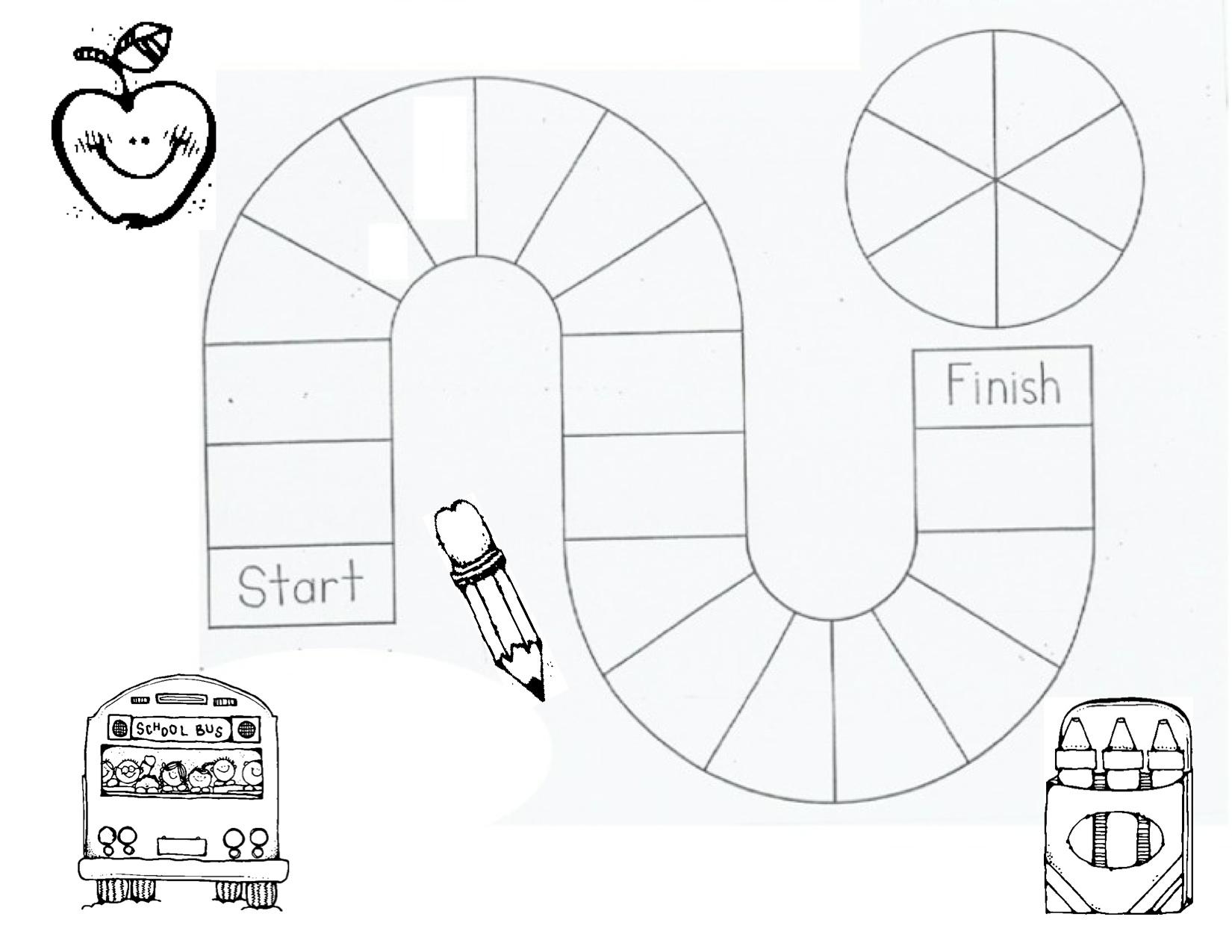 Blank School Gameboard