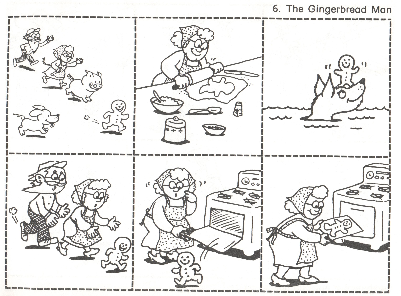 6 Gingerbread Man
