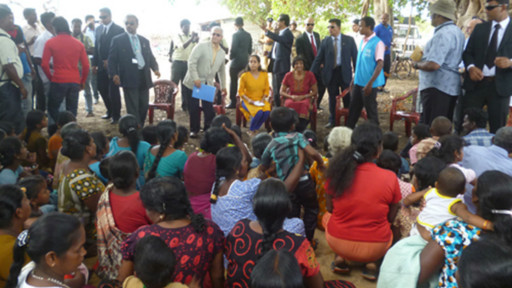 Meeting in Mullivaikkal-pic courtesy of: BBC Tamil