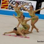 _P2A7140 Conjunto Juvenil. 3 Mazas y 2 Aros (C.G.R. Málaga)