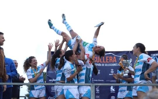 Campeonas Estatal Rugby Femenino.