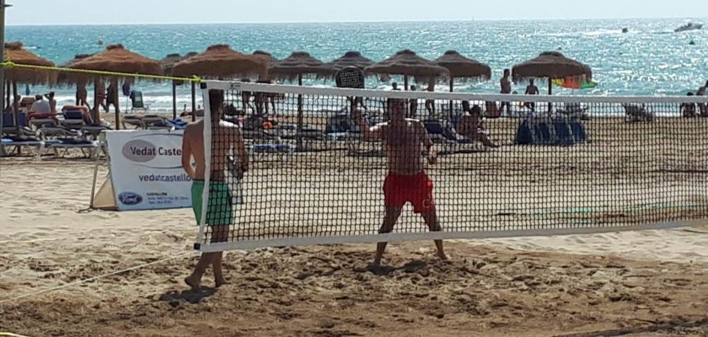 Beach Tennis Benicassim