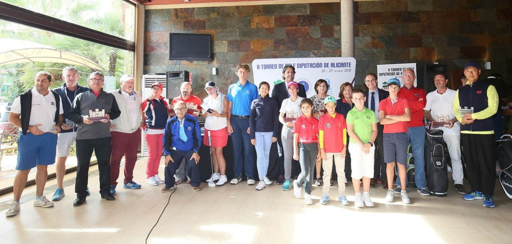 II Trofeo de Golf Diputación de Alicante.