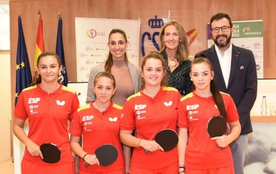 Liga Iberdrola Tenis de Mesa femenino