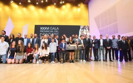 XXXVI Premios Provinciales del Deporte