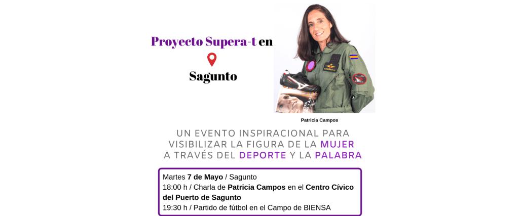 Supera-t de Patricia Campos en Sagunto.