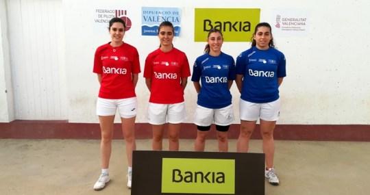 Finalistas De La Liga Bankia de Raspall Femenina
