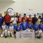 Campeones Autonómicos de los JECV de Escala i Corda.