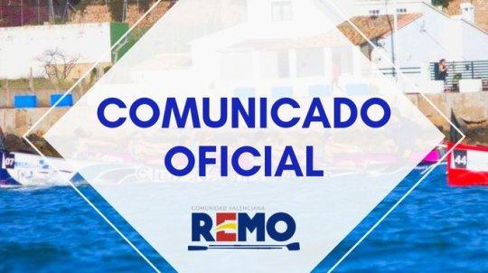 comunicado FRCV