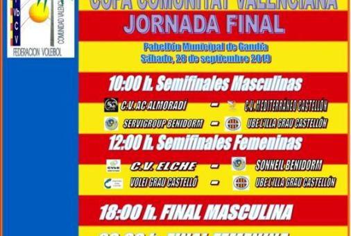 Copa Comunitat Valenciana de Voleibol.