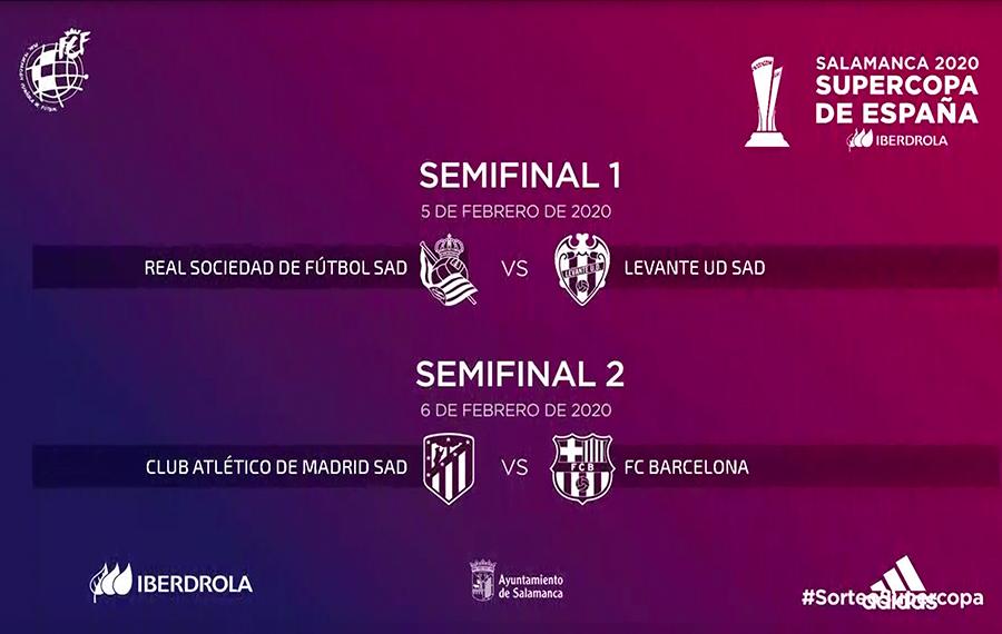 Semifinales Supercopa Femenina