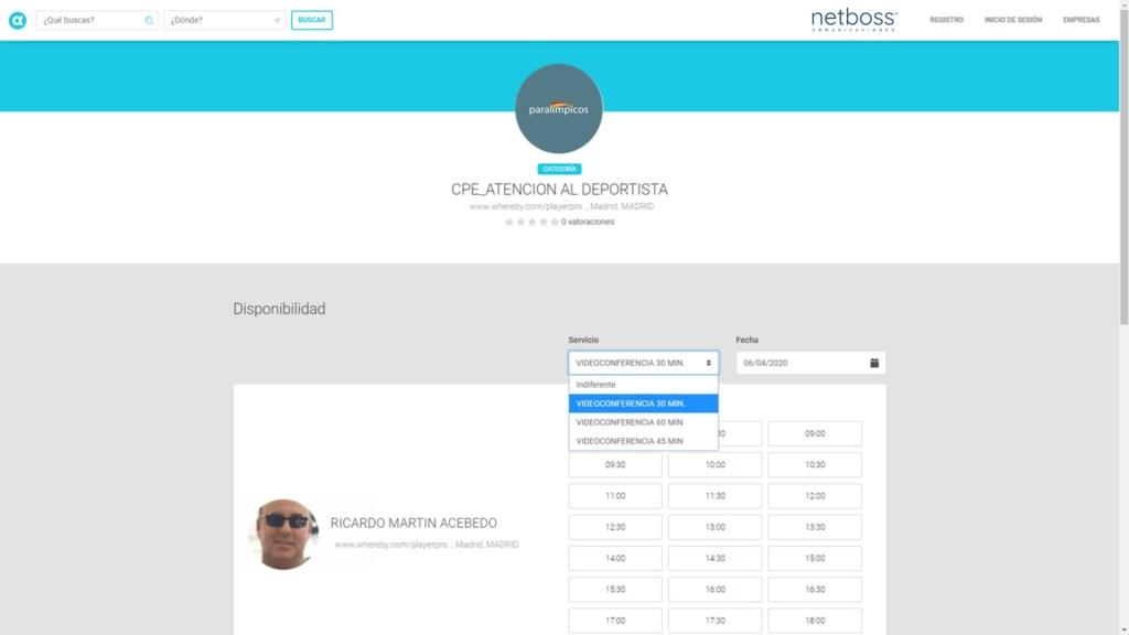 Plataforma Netboss