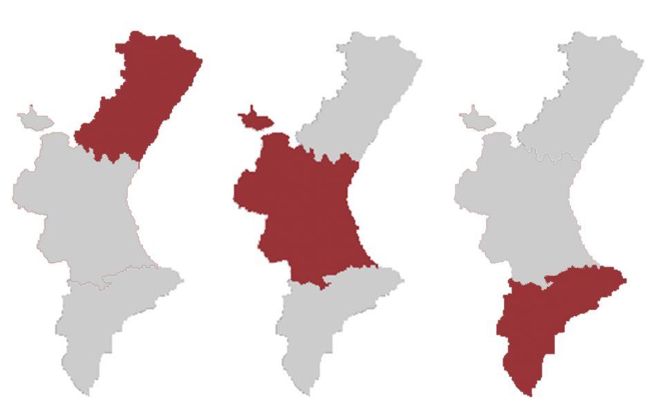 Municipios CV