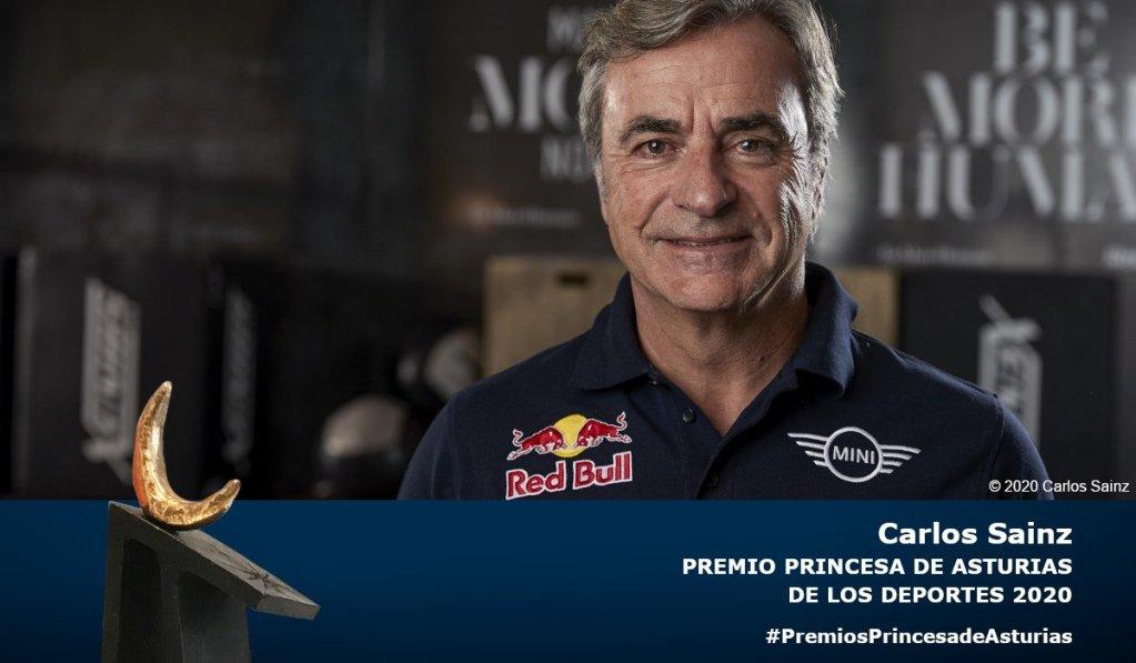 Carlos Sainz, Princesa Asturias deportes 2020