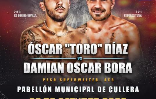 """Óscar """"Toro"""" Díaz vs Damián Óscar Bora"""
