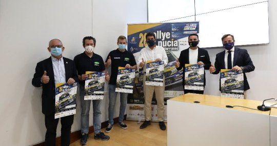 Rallye la Nucia. Presentación