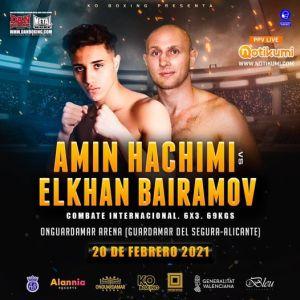 Amin Hachimi vs Elkhan Bairamov