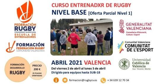 Curso Entrenadxr Rugby. Nivel Base