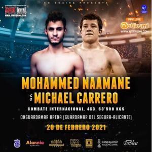 Mohammed Naamane vs Michael Carrero
