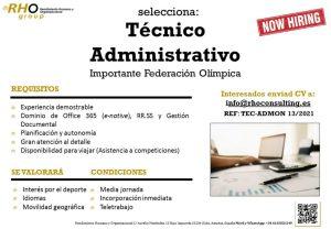Oferta Técnico Administrativo