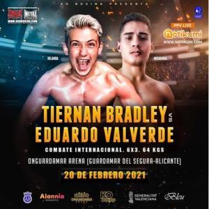 Tiernan Bradley vs Eduardo Valverde