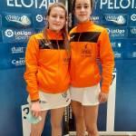 Leire Barona y Lucía Deusa