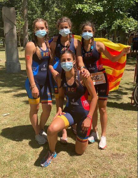 Equipo femenino cadete