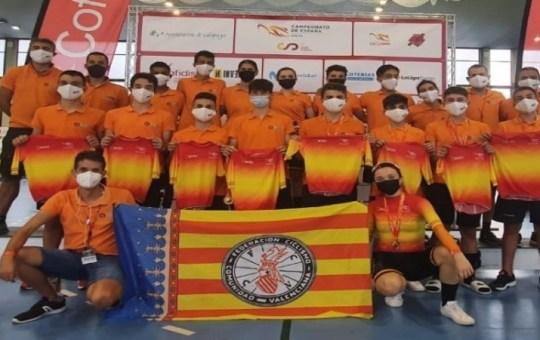 Selección Valenciana en pista