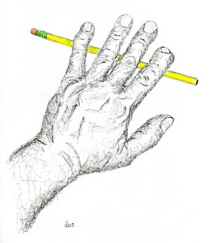 Pencil in Hand No3-downsized