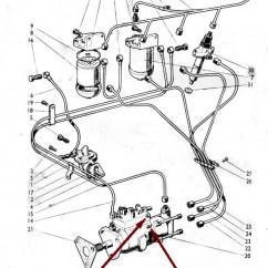 Diesel Engine Alternator Wiring Diagram Fisher Minute Mount Plow Headlight Bleeding The Fuel System