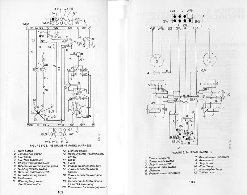 tractor wiring diagram alternator sony cdx ra700 diagrams