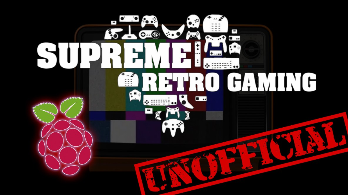 Supreme Duo - Retro Gaming for Raspberry Pi 4