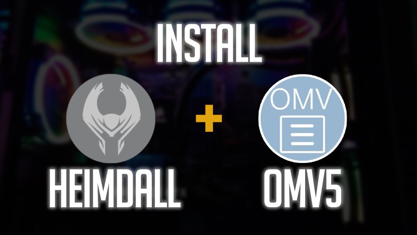 How to Install Heimdall on OpenMediaVault 5
