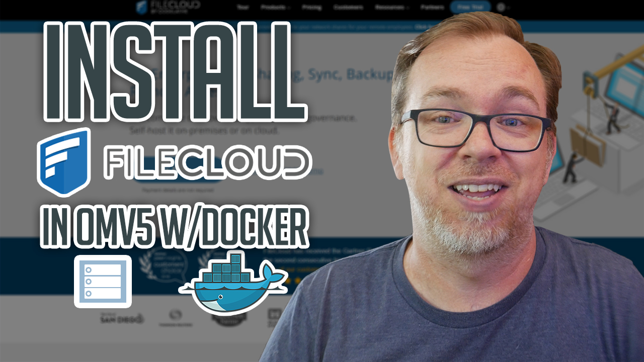 How to Install FileCloud on OMV and Docker