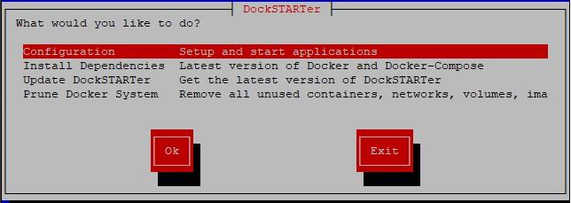 dockstarter home