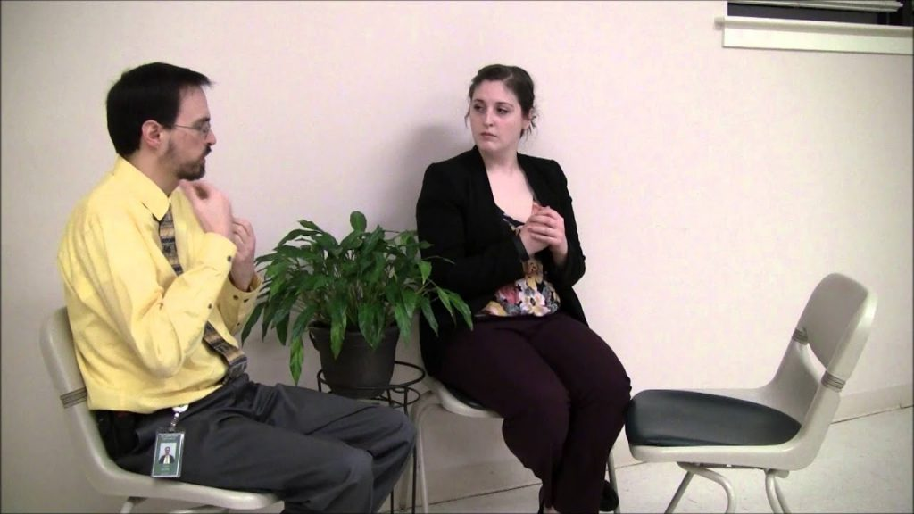 Gestalt Therapy Role-Play - Two-Chair Technique with the ...