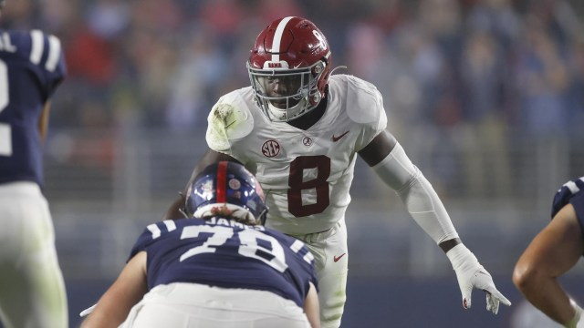 Christian Harrisis the top linebacker in our preseason top prospects.