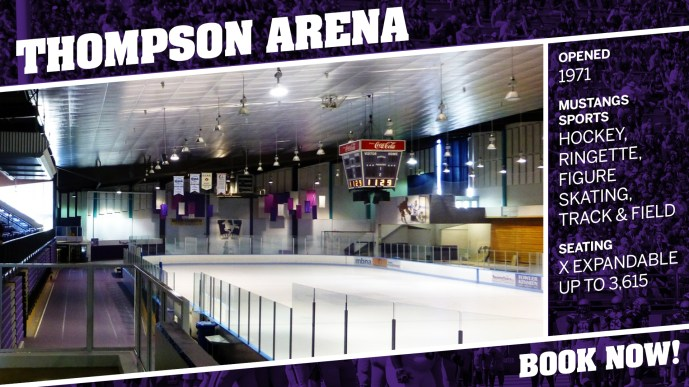 Thompson Recreation & Athletic Centre - Western Mustangs Sports
