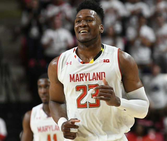 Bruno Fernando Mens Basketball University Of Maryland Athletics