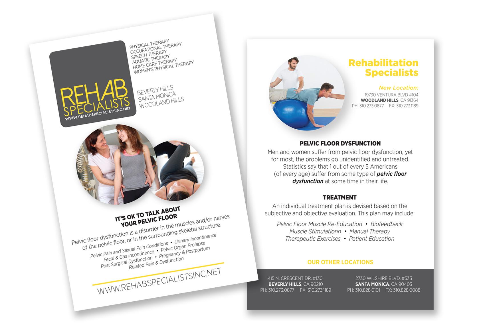 Male  Female Pelvic Floor Rehab  Rehab Specialists Inc