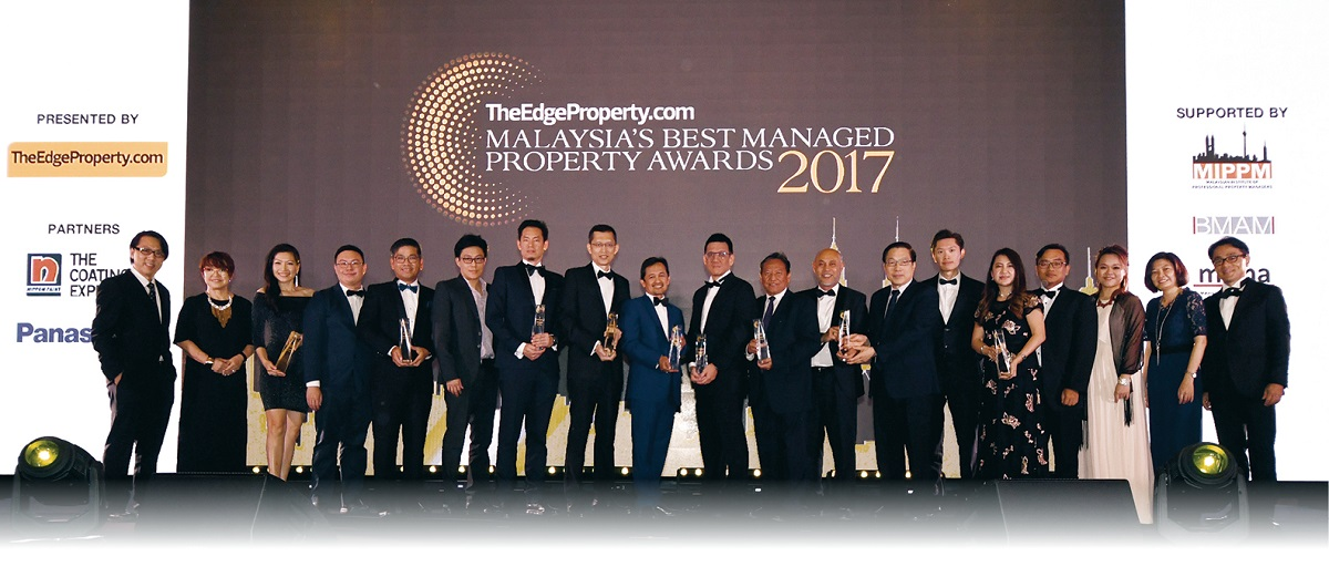TheEdgeProperty.com Malaysia's Best Managed Property Awards 2017